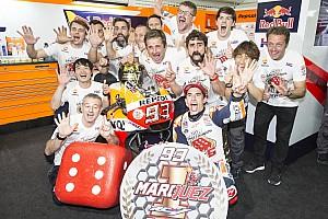 MotoGP Actualités Pour Honda, Márquez est