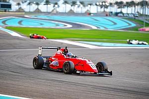 Indian Open Wheel Race report Abu Dhabi MRF: Drugovich takes crushing Race 3 win