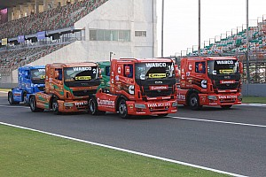 Other truck Race report Delhi T1 Prima: Powell wins thrilling opening race