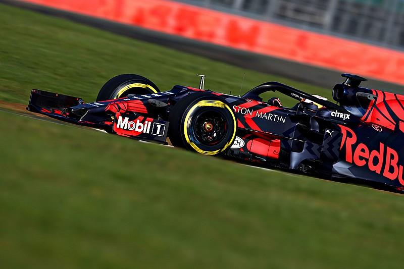 First Red Bull-Honda run left Verstappen