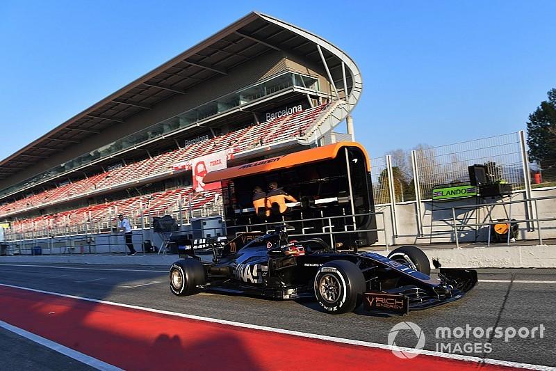 LIVE: Tes pramusim F1 Barcelona II hari pertama