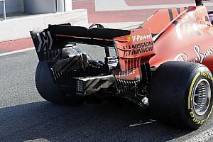 Ferrari опробовала на тестах в Барселоне колесные диски в стиле Mercedes