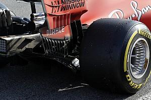"""フェラーリ、""""メルセデス""""式のリヤホイールをテスト"""