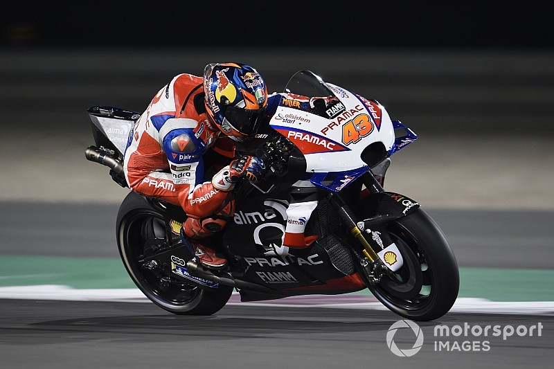 Miller: Petrucci and I test for Dovizioso