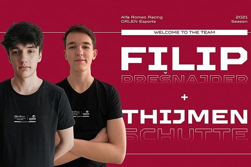 Alfa Romeo trekt Nederlander aan voor nieuw F1 Esports-seizoen
