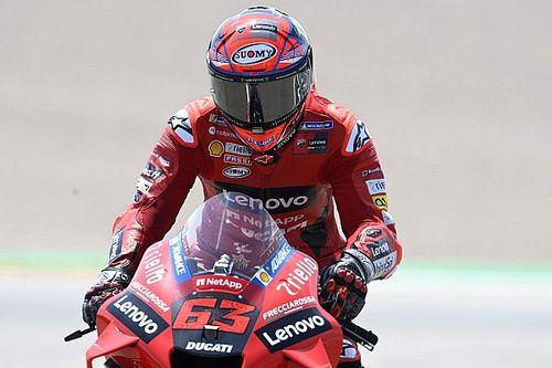 Bagnaia Kecam Perilaku Pembalap di Kualifikasi MotoGP Jerman