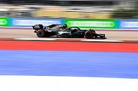 Russian GP: Bottas takes comfortable win after Hamilton penalty