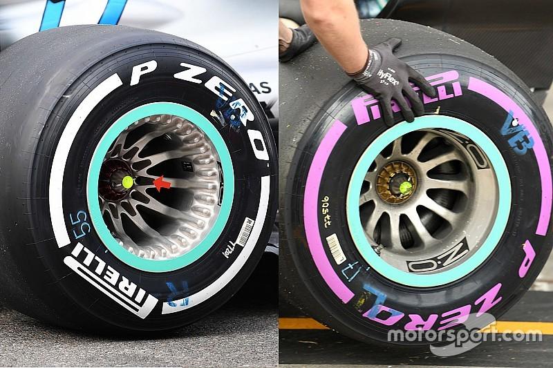 """メルセデスの新型ホイールは""""完全合法""""。FIAが調査"""