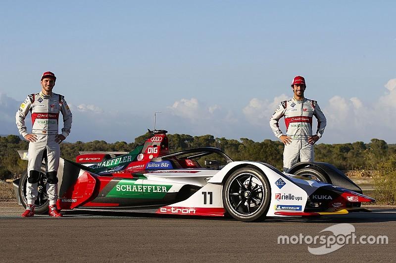 Audi показала свою нову машину Формули Е