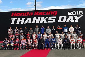 In beeld: Grote namen in actie tijdens Honda Racing Thanks Day 2018