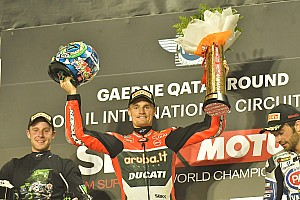 World Superbike Race report Qatar WSBK: Davies ends season with sixth straight win