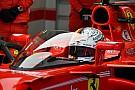 Galería: así fue la prueba de Vettel con el 'escudo'