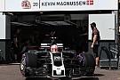 Formula 1 Haas, yeni rengiyle Monaco'da piste çıktı