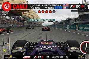 FORMULA 1 LİGİ Son dakika 2017 Malezya GP Sanal Turnuva: Canlı Yayın