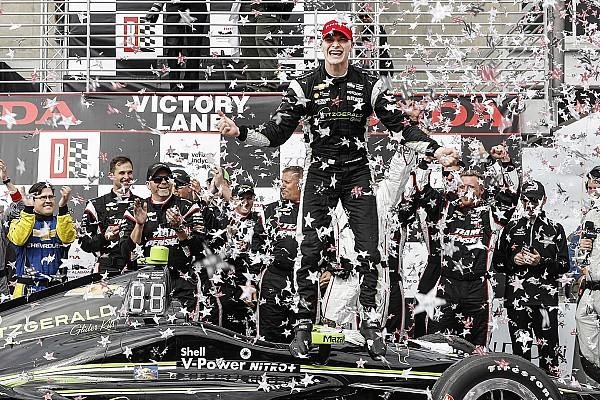 Les pneus durs, décisifs pour la victoire de Newgarden