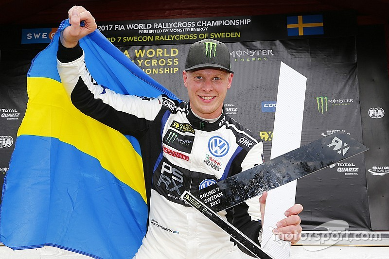 Sweden WRX: Kristoffersson dominates to extend points lead