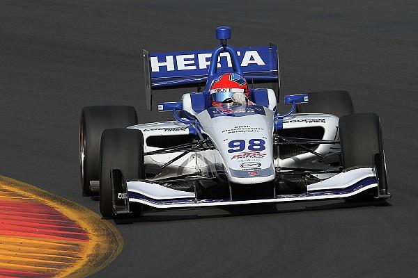 Indy Lights Reporte de calificación Colton Herta llega a siete poles en la temporada de Indy Lights