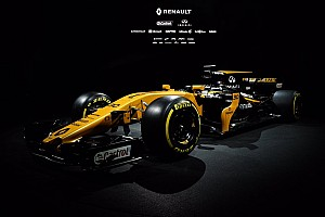 Renault presents its 2017 Formula 1 car