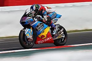 Moto2 Verslag vrije training Warm-up GP Catalonië: Marquez voor Schrotter en Morbidelli