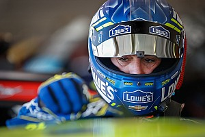 NASCAR Cup Interview Johnson talks contract and coming home to California
