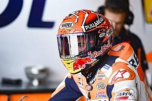 MotoGP Отчет о тренировке Маркес стал быстрейшим в третьей тренировке Гран При Арагона