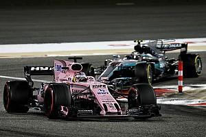 Forma-1 BRÉKING Pérez szenzációs rajtja Bahreinből: 18. helyről a 13-ra