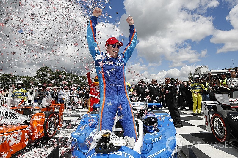 Road America IndyCar: Dixon holds off Penskes for first win of 2017