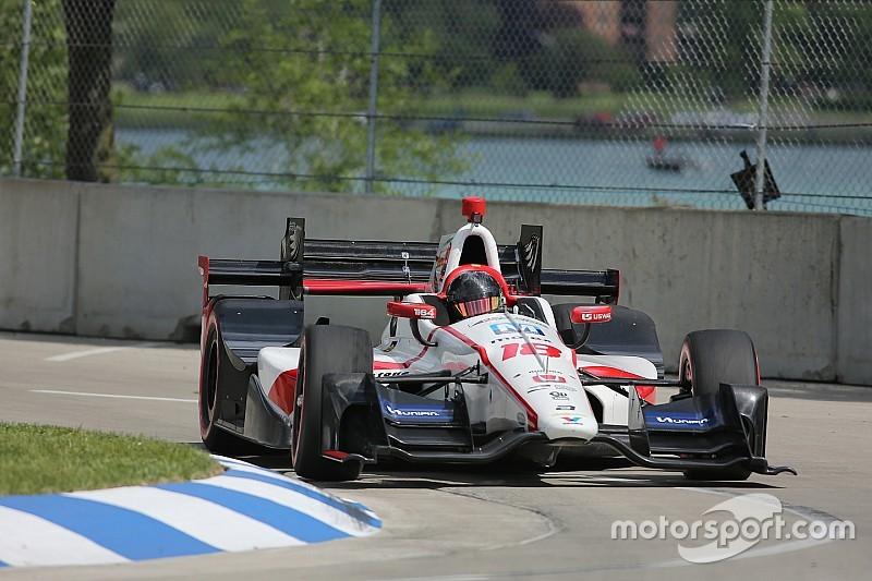 Gutiérrez quedó satisfecho con su debut en IndyCar