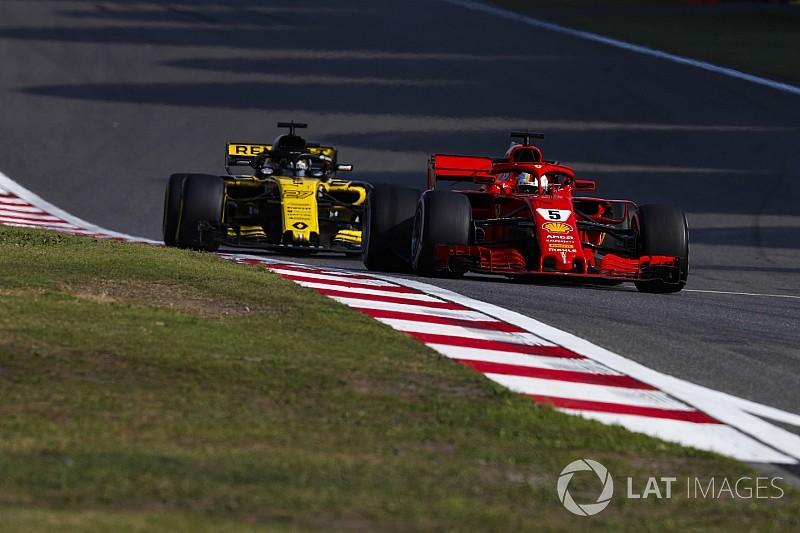 """Renault teleurgesteld over gat naar top-3: """"Concurrentie was ons te slim af"""""""