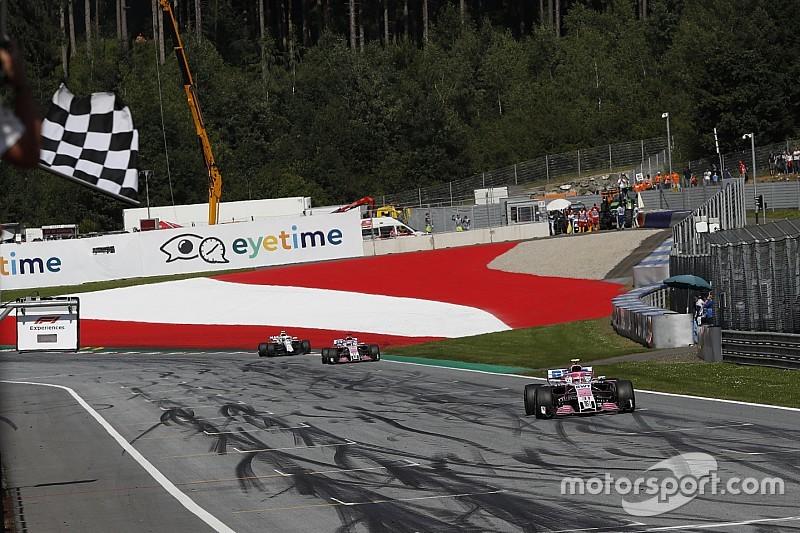 Le barème de points F1 ne changera pas en 2019