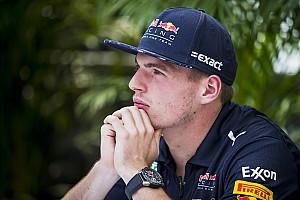 Verstappen s'explique après avoir traité un commissaire de