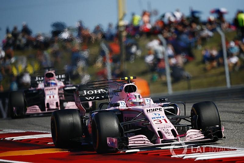 Force India espera descartar ordens de equipe após México