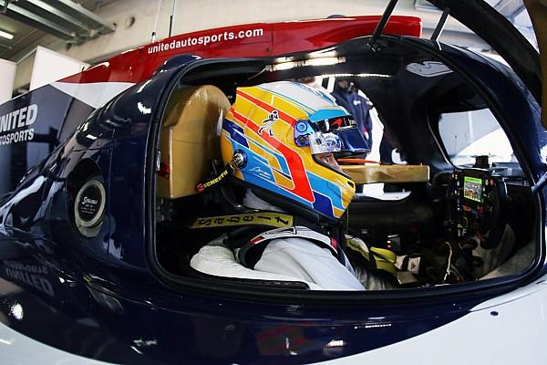 IMSA Важливі новини Алонсо дебютував за кермом LMP2 на тестах в Арагоні