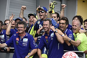 MotoGP Breaking news Rossi: Acceleration demands making Yamaha staff