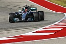 Formula 1 United States GP: Hamilton completes practice sweep