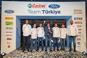 Ralli Son dakika Avrupa Şampiyonu Castrol Ford Team Türkiye, zaferini kutladı