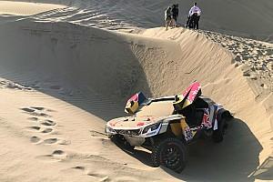 Dakar Relato de estágio Peterhansel aumenta liderança nos carros; Loeb abandona