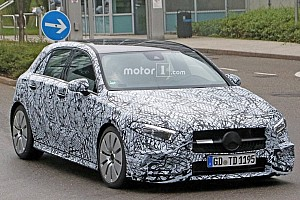Automotive Breaking news Mercedes-AMG A35 spied getting ready to rival Audi S3 Sportback