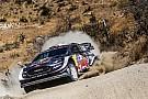WRC Evans'ın co-pilotu, kazanın ardından hastaneye kaldırıldı