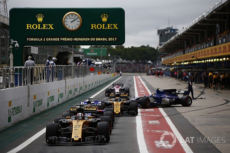 Current F1 car looks