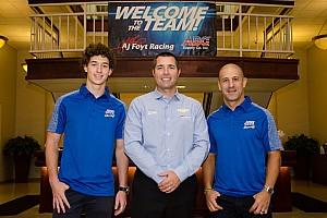 IndyCar Breaking news Foyt signs Leist to partner Kanaan in 2018