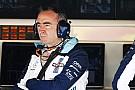 Lowe: Kubica'yı yarış pilotlarımız ile karşılaştırmıyoruz