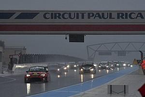 TCR Italia Gara Andrea Larini vince Gara 2 dietro alla Safety Car nel diluvio francese
