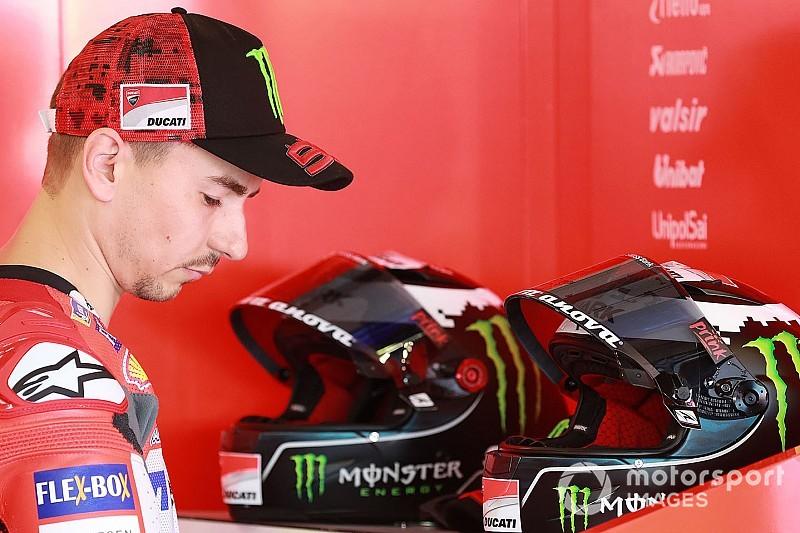 Ducati confirma que Lorenzo não corre na Austrália