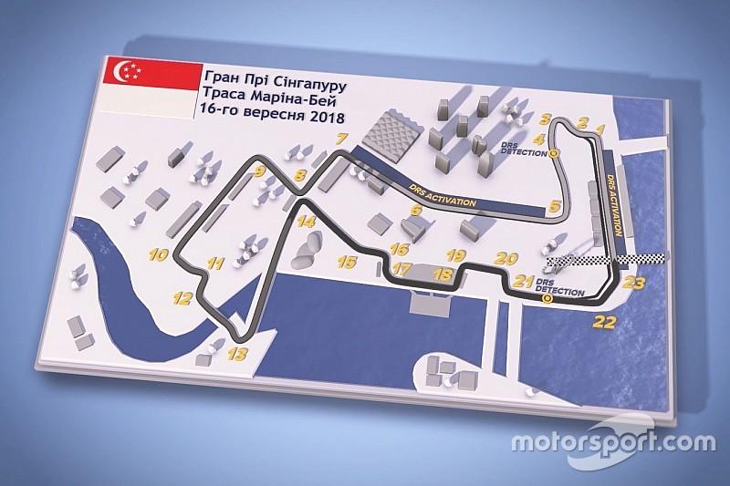 Гран Прі Сінгапуру: Путівник треком Маріна-Бей