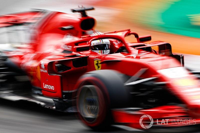 Vettel ve Hamilton temas yaşadı!