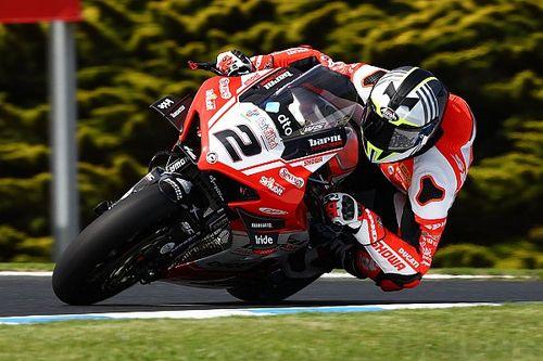 SBK, Barni introduce un nuovo serbatoio per la Ducati