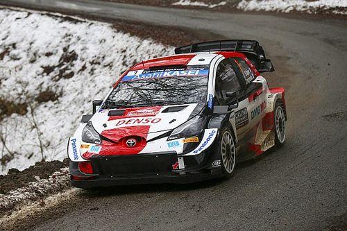 Matinée idéale pour Ogier, nouveau leader du Rallye Monte-Carlo