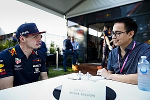 """Max Verstappen: """"Ook tijdens simraces gaat mijn hartslag omhoog"""""""