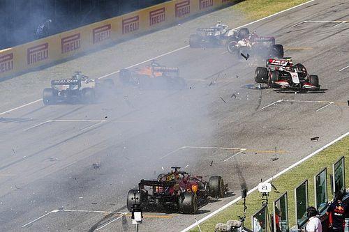 F1: warning a 12 piloti per il crash sul rettilineo del Mugello